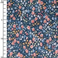 Tissu Liberty - Phoebe and Jo Blau x10cm