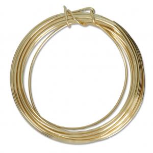 Kupferdraht Craft Wire weich 1.29mm Gold x 4.57 m - Perles & Co