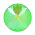 Cabochon Swarovski 1122 Rivoli 16mm Crystal Ultra Lime