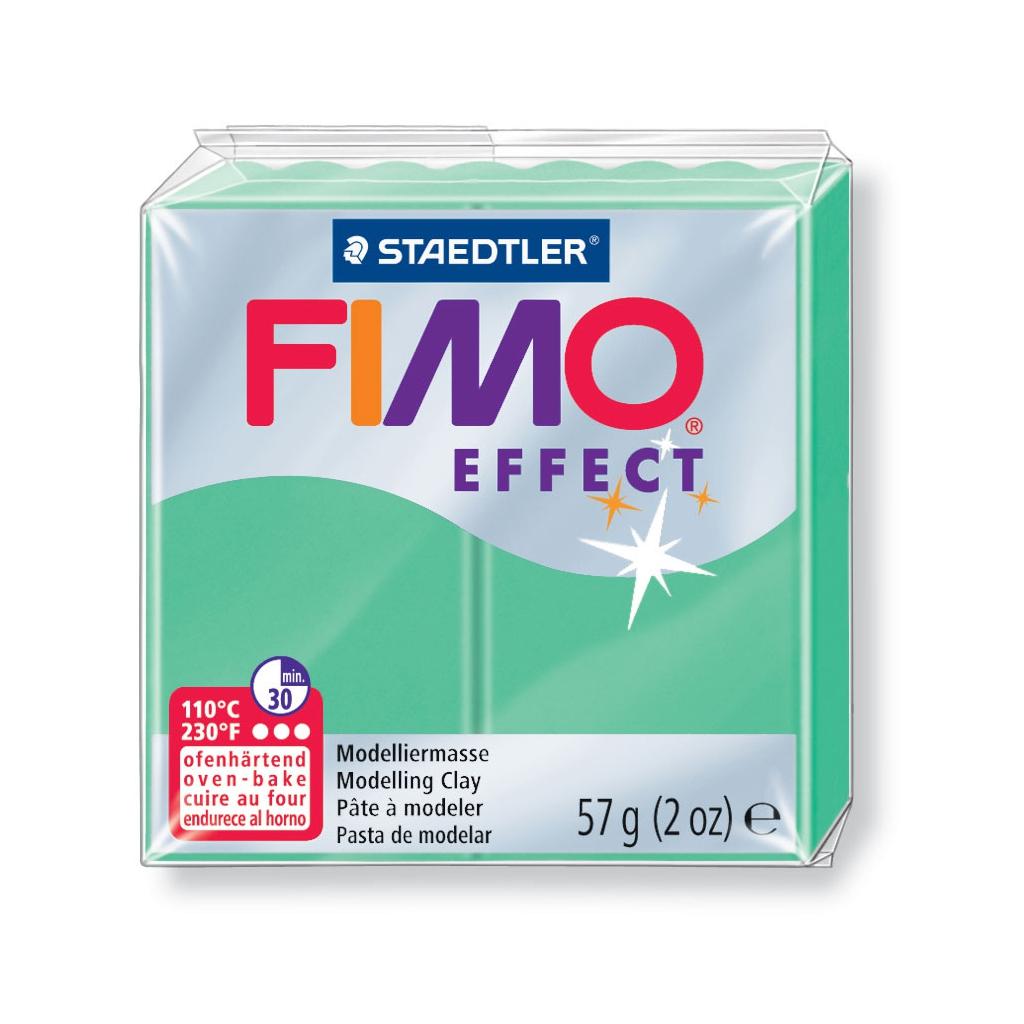 Fimo Effect Modelliermasse 57gr Gemstone Colour Jade Grün N506