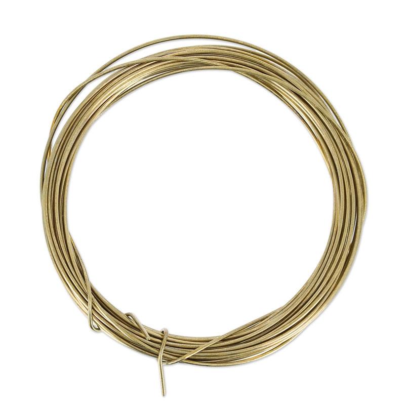 Draht aus Bronze 0,80 mm x5m - Prometheus - Perles & Co
