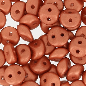 ES-O® Beads 5 mm Copper Metallic Mat x5g