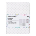 Sortiment mit Paper Poetry Notizblöcken 105x140 mm Romantic Flowers x3