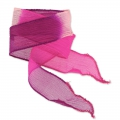 Seiden Schrägband 25mm Tie and Dye Princess Rose/Fuchsia/Purple x85cm