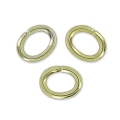 Biegering oval 3.1x2.4x0.55mm light gold x50