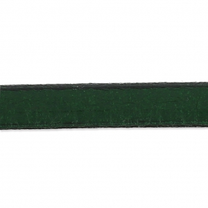 Flaches Lederband 5mm Green x30cm