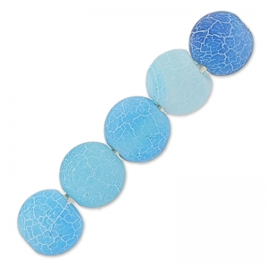 Cracked Achat 4 mm Turquoise x20