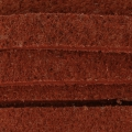 Flaches Band aus Kunstsuede 5x2.20 mm Rot x 2m