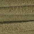 Flaches Band aus Kunstsuede 5x1.70 mm Sand x 2m
