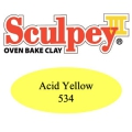 Sculpey III Modellier Masse 57 gr Acid Yellow (n°534)