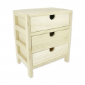Holzkommode Patchwork Family 23.5x19.5x13.5 cm Natural x1