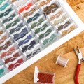 Tiny Container Bead Storage Tray - Plateau et 78 mini-boites