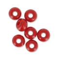 Rocailles 4mm Red Coral x20g
