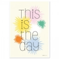 Postkarte Fifi Mandirac 15x10.5 cm This Is The Day x1