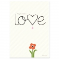 Postkarte Fifi Mandirac 15x10.5 cm All You Need Is Love x1