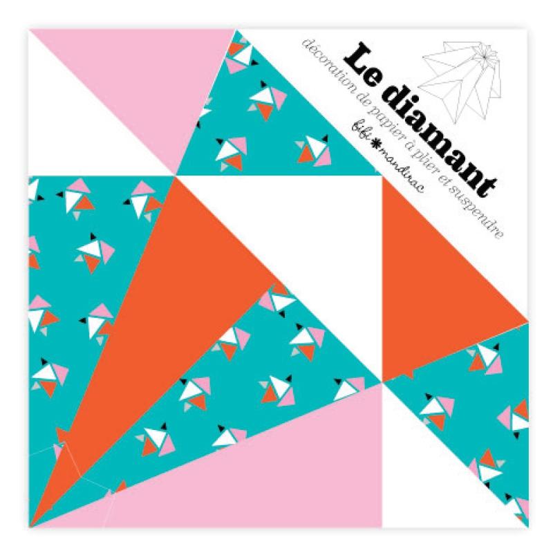 Kit Deko Origami Diamant Fifi Mandirac 13.5x9.5 Cm