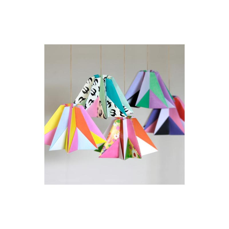 kit deko origami diamant fifi mandirac cm triangles x1 perles co. Black Bedroom Furniture Sets. Home Design Ideas