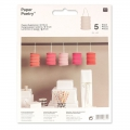 Set mit 5 Papierlaternen Paper Poetry 10 cm Candy