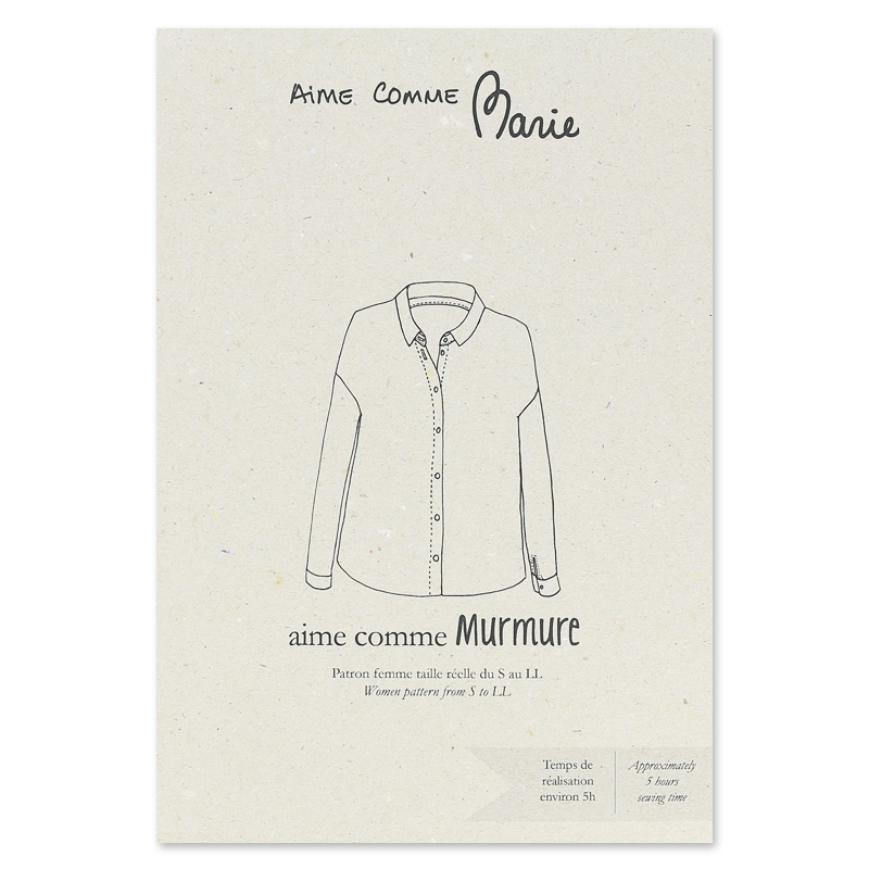 Schnittmuster Hemd Aime Comme Marie - Aime comme Murmure - Aime co ...