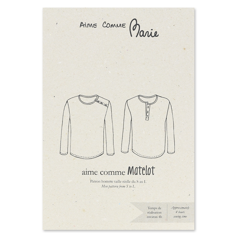 Schnittmuster T-Shirt Aime Comme Marie - Aime comme Matelot - Aime ...