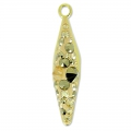 Pavé Pendant Swarovski 67482 20 mm Crystal Golden Shadow x1