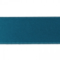 Satinband 25mm Entenblau x1m