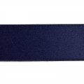 Satinband 25mm Navy Blau x1m