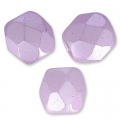 Glasschliffperlen 3mm Pastel Light Lilas x50