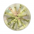 Swarovski Cabochon 1695 Sea Urchin 14mm Crys. Luminous Green semi-mat