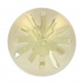 Swarovski Cabochon 1695 Sea Urchin 14mm Crystal Golden Shadow semi-mat