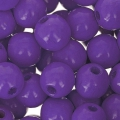 Runde Holzperle 8 mm Lilac x80