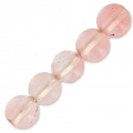 Imitat Strawberry Quartz  3 mm x25