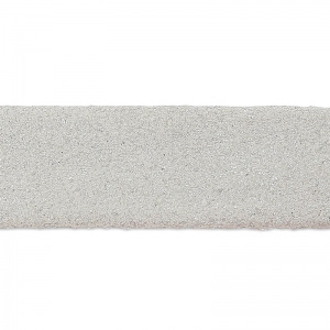 Doppeltes Lederband Suede Imitat irisierend 10 mm Silver x 50cm