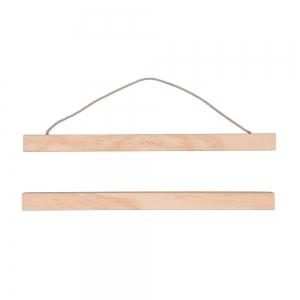 h ngesystem aus holz f r plakat 30 cm perles co. Black Bedroom Furniture Sets. Home Design Ideas