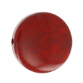 Steinnuss Puck 19 mm Bordeaux x 1