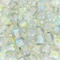 Rundperlen 4mm Crystal Blue Rainbow x50