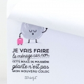 Notebook Mr. Wonderful  9.5x12 cm Wonder-Résolutions x1