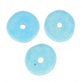 Keramik Rondellen 8.5 mm Light blue matt x20
