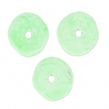 Keramik Rondellen 8.5 mm Light Mint matt x20