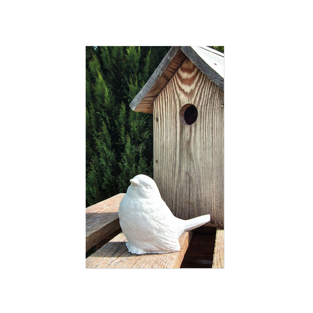 Latex Form für Kreativ-Beton 11.5 cm Vogel - Perles & Co