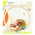 Kit Dreamcatcher aus rohem Holz 20 cm x1