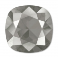 Cabochon Swarovski 4470 12 mm Crystal Dark Grey x1