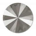 Swarovski Cabochon 1122 Rivoli 12mm Crystal Dark Grey x1