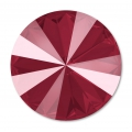 Swarovski Cabochon 1122 Rivoli 12mm Crystal Dark Red x1