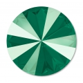 Swarovski Cabochon 1122 Rivoli 14mm Crystal Royal Green x1