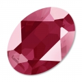 Cabochon Swarovski 4120 Oval 14x10mm Crystal Dark Red x1