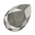 Swarovski Cabochon 4327 Birne 30x20mm Crystal Dark Grey x1