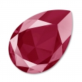 Swarovski Cabochon 4327 Birne 30x20mm Crystal Dark Red x1