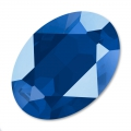 Cabochon Swarovski 4120 Oval 14x10mm Crystal Royal Blue x1