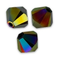Swarovski Doppelkegel 6mm Crystal Rainbow Dark 2X x20